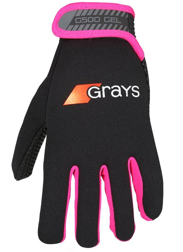 Grays G500 Gel Gloves - Pink - Gilmour Sports