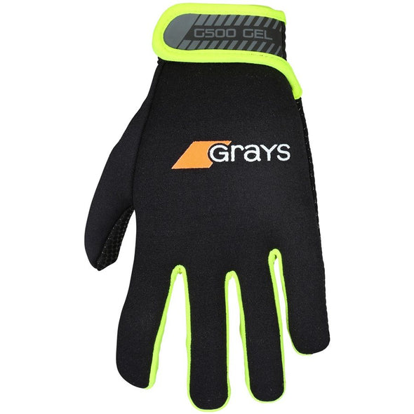 Grays G500 Gel Gloves - Yellow - Gilmour Sports