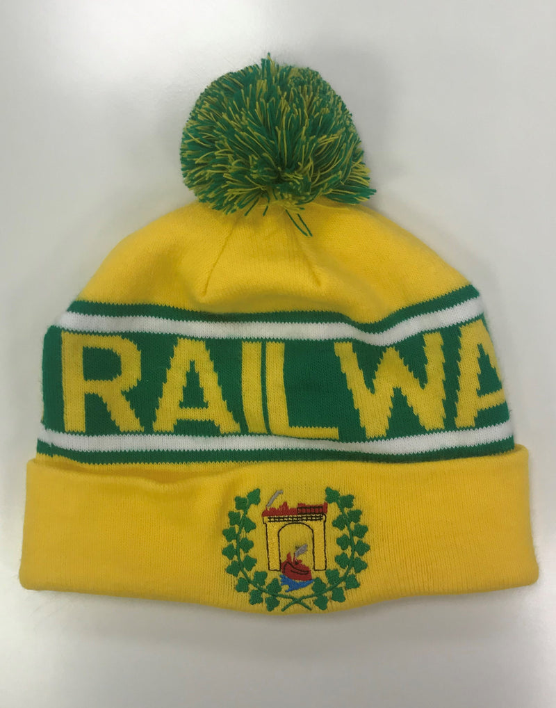 Railway Union HC Bobble Hat Flat