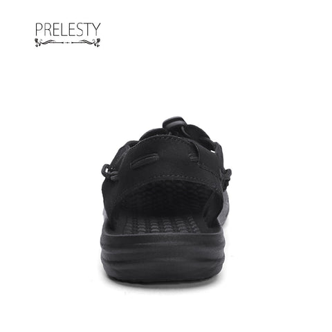 Prelesty Men Straps Sandals Summer Shoes Breathable New Beach Casual Outdoor