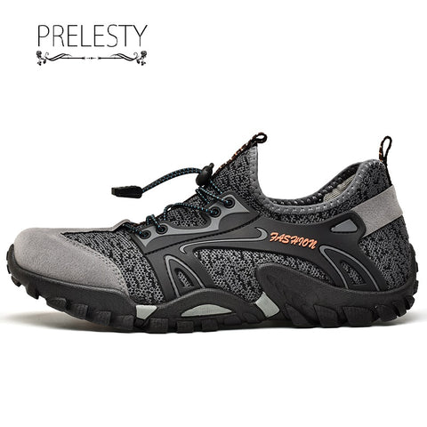 Prelesty Fashion Summer Men's Sports Outdoor Hiking Shoes Comfortable Cool
