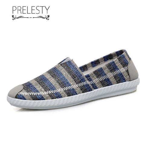 Prelesty Fashion Summer Casual Leisure Shoes Men Cool Mesh Driving Easy Shoes