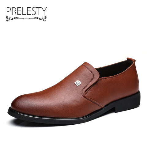 Men's Dress Shoes Black Brown High Quality