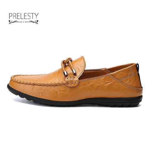 New Man Loafers Classical Moccasins Autumn Cool Men's Flats Shoe