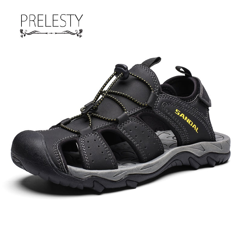 Prelesty Summer Cool Outdoor Beach Sandal Shoes Male Comfortable Lightweight