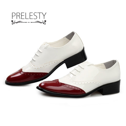 Classical Men Business Dress Shoes Patent Leather Derby