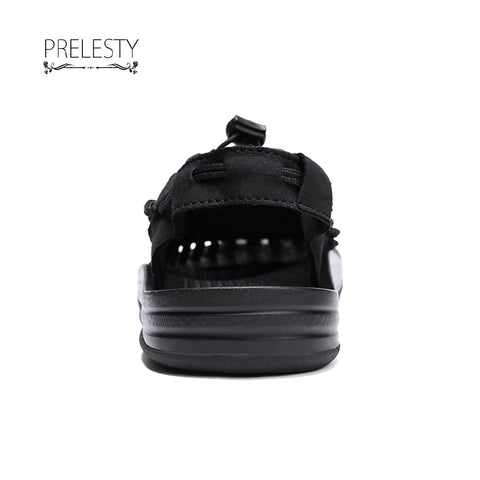 Prelesty New Mens Sandals Summer Shoes New Beach Casual Shoes Outdoor Strap Design