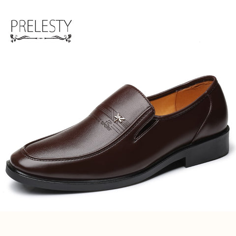 Luxury Brand Men Dress Shoes Italian Design Fashion Business Oxford Shoes Formal