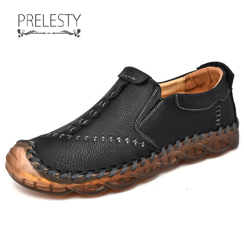 Prelesty Men's Casual Loafer Shoes Driving Comfortable Rubber Outsole High Quality