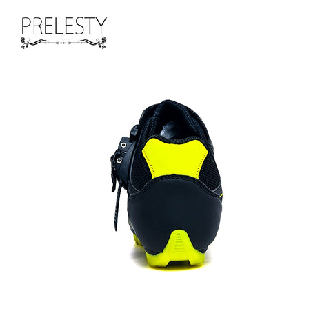 Prelesty New Design Handsome Men Cycling Shoes Moldable Road Good Bike Sneakers Comfortable