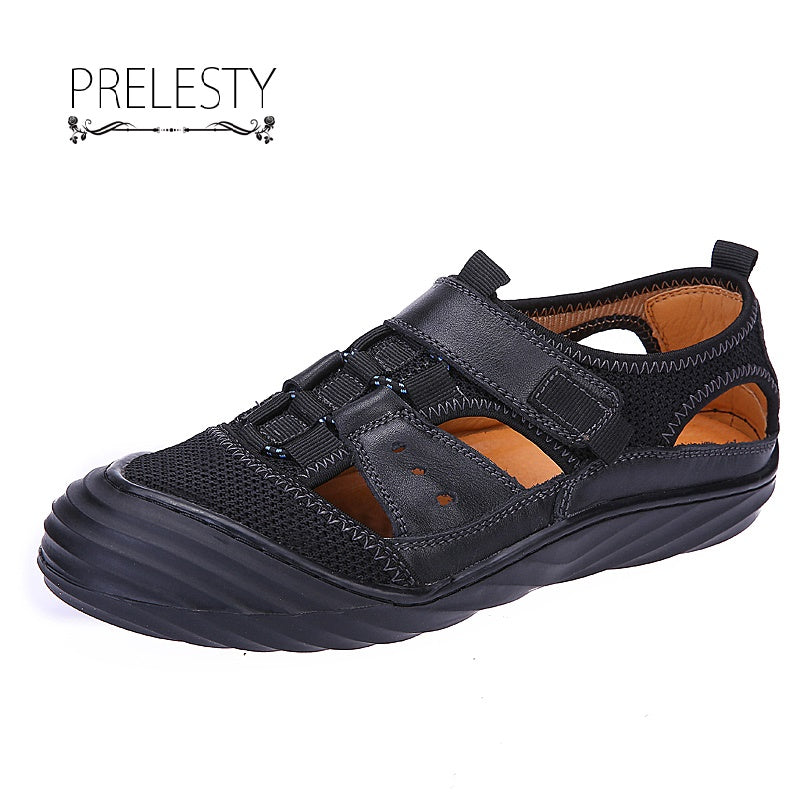 Summer Men Hiking Shoe Holes Design Climbing Trekking Sport