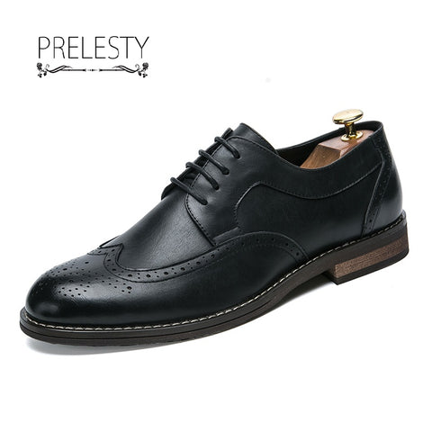 High Quality Men Oxford British Style Formal Footwear