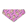 Purple Stripes - Custom Dog Bandana