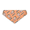 Orange Stripes - Custom Dog Bandana