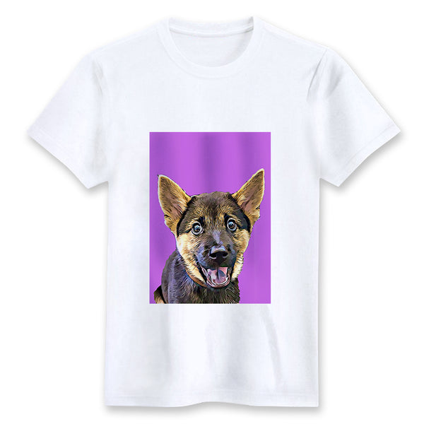 Custom T-shirt - Grape