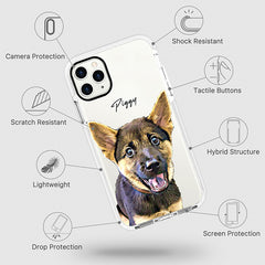 iPhone Ultra-Aseismic Case - Honey
