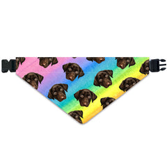 Soft Watercolor Paint 3 - Custom Dog Bandana