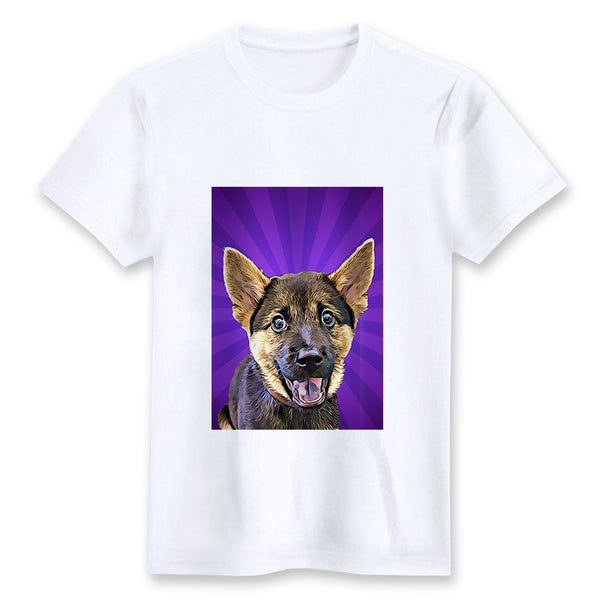Custom T-shirt - On The Stage Purple