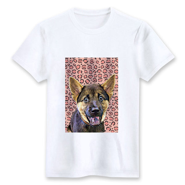 Custom T-shirt - Leopard