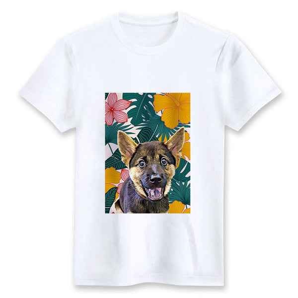Custom T-shirt - VIntage Tropical