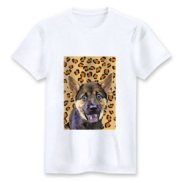 Custom T-shirt - Leopard 2
