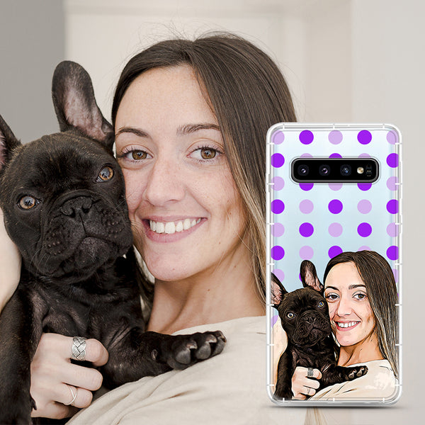 Custom Face Samsung and Google Aseismic Case