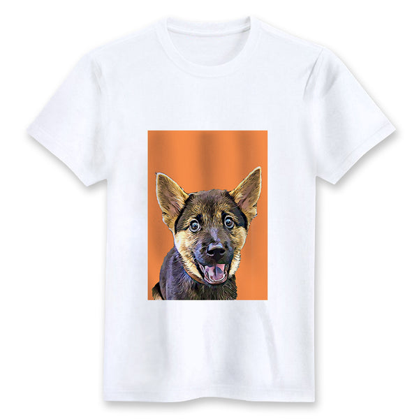Custom T-shirt - Orange