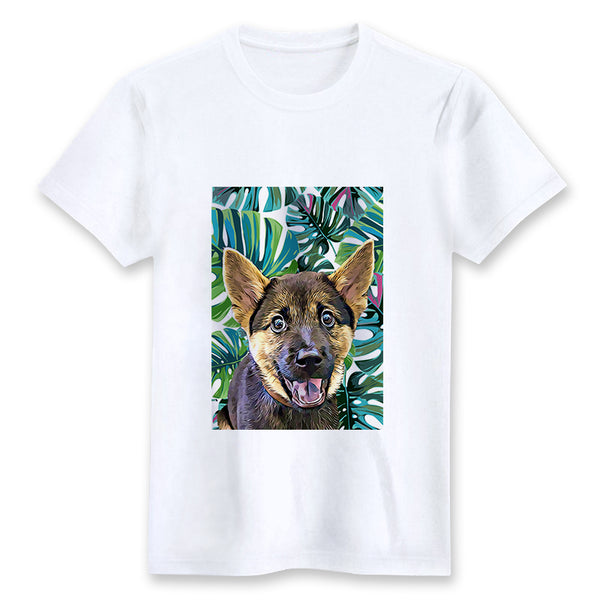Custom T-shirt - Tropical