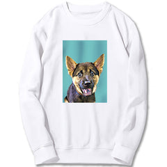 Custom Sweatshirt - Pastel Cyan Green