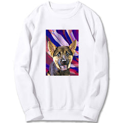 Custom Sweatshirt - Abstract WaterColor Paint
