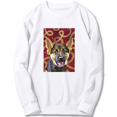 Custom Sweatshirt - Gold Chain With Jewels