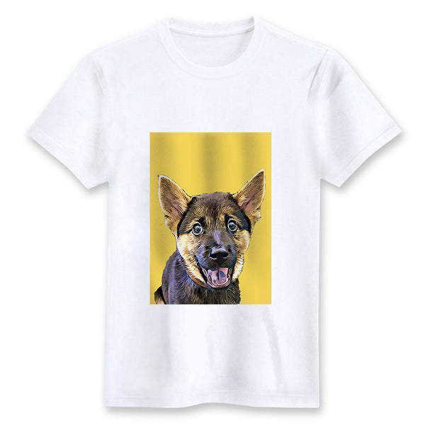 Custom T-shirt - Yellow