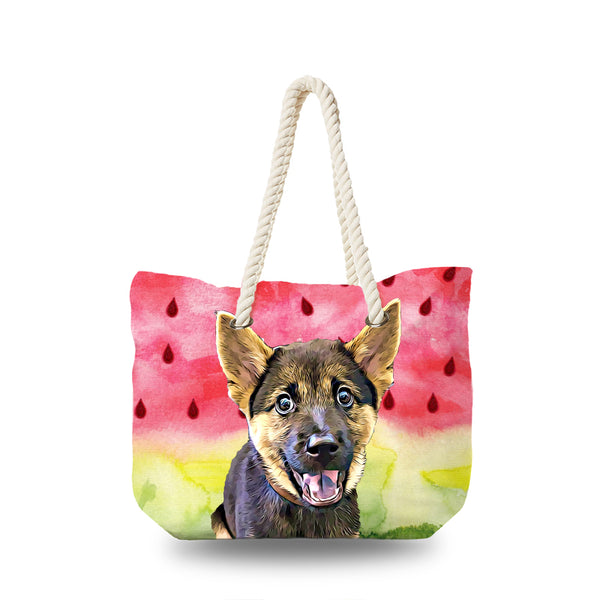 Canvas Bag - Watermelon