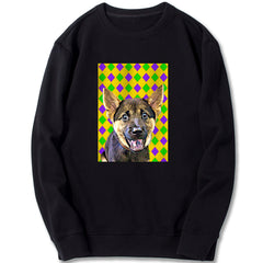 Custom Sweatshirt - YGP Diamond Pattern
