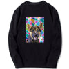Custom Sweatshirt - Geometrical  Pattern