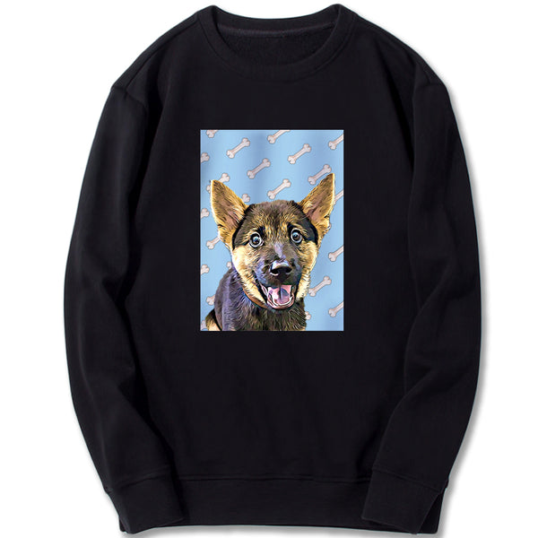 Custom Sweatshirt - Milk-bones