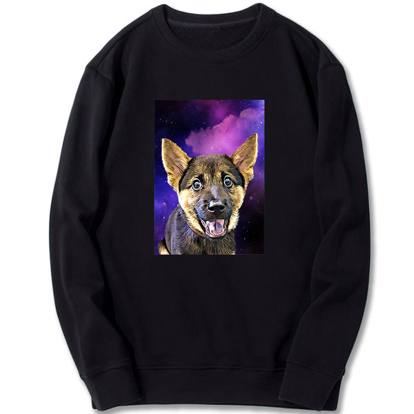 Custom Sweatshirt - Mystery Galaxy