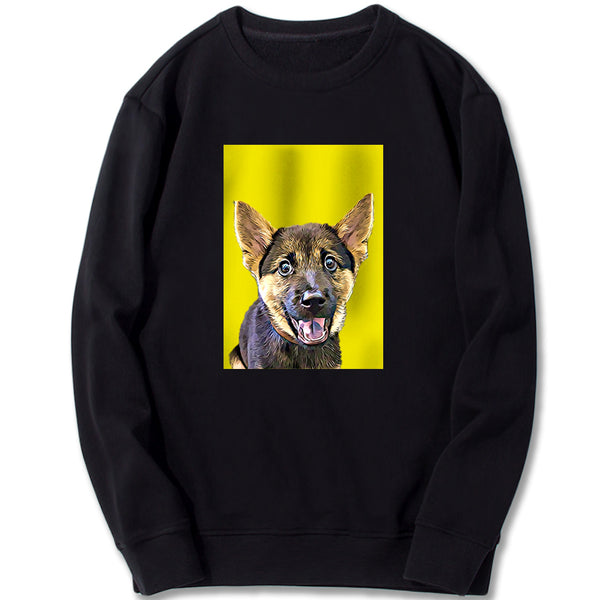 Custom Sweatshirt - Yellow