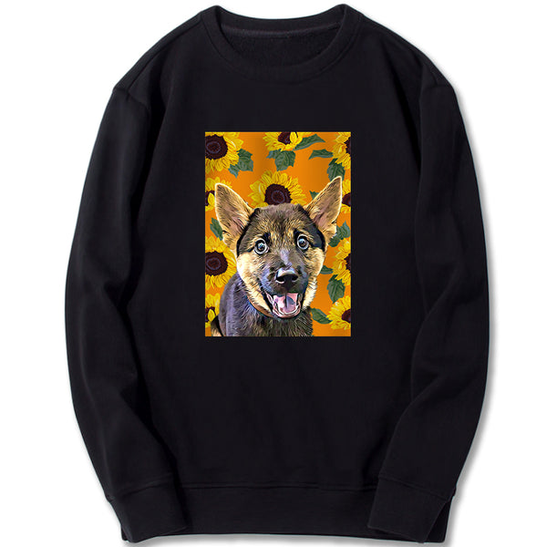 Custom Sweatshirt - Sunflowers Don't Grow in Winter