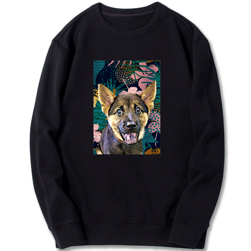 Custom Sweatshirt - Leopard Jungle