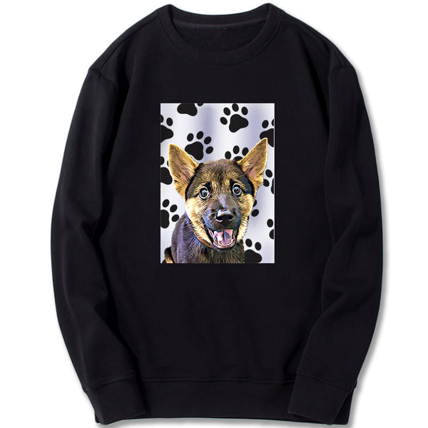 Custom Sweatshirt - My Paws