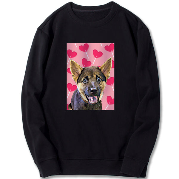 Custom Sweatshirt - Love Candy