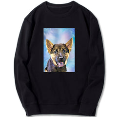 Custom Sweatshirt - Blue Gradient
