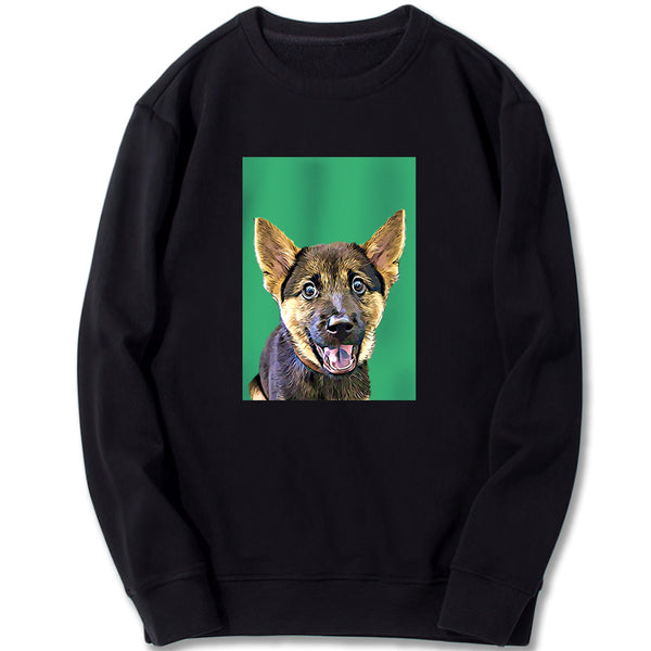 Custom Sweatshirt - Light Green