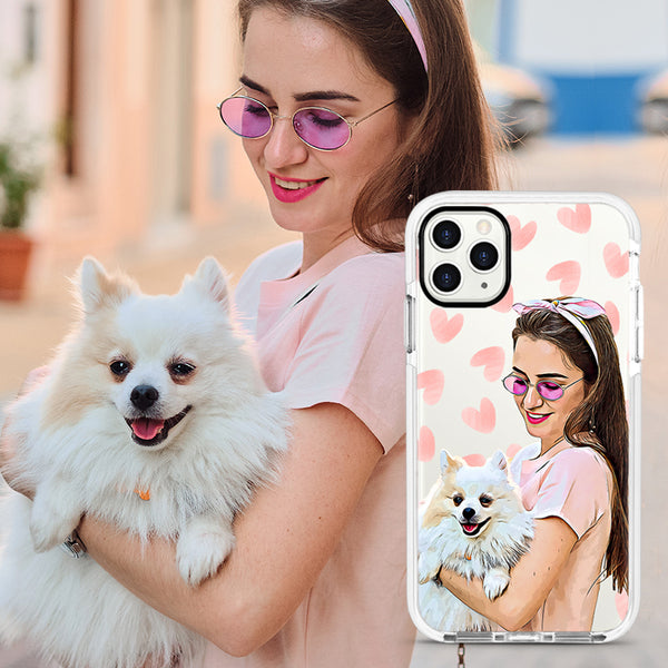 Custom Face iPhone Ultra-Aseismic Case