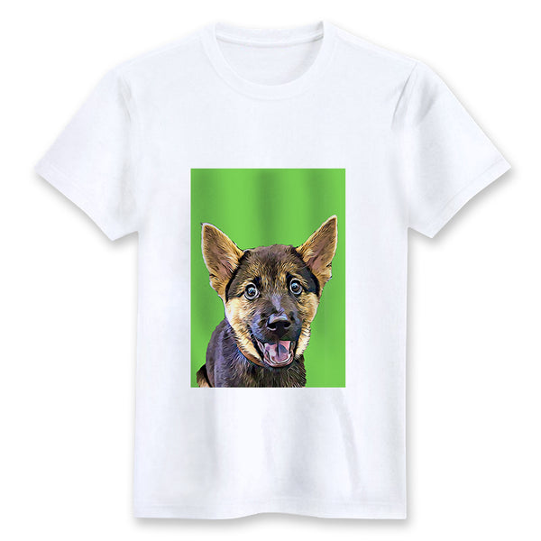 Custom T-shirt - Lime