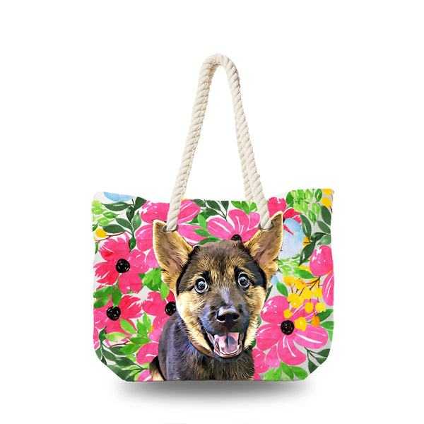 Canvas Bag - Floral Bouquet