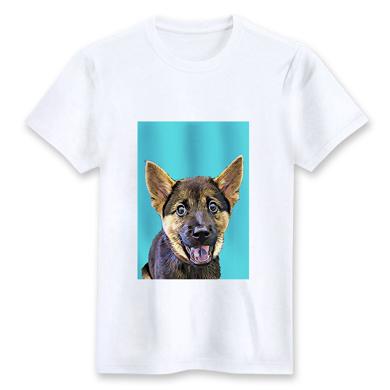 Custom T-shirt - Cool Blue