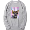 Custom Sweatshirt - Soft Watercolor Paint