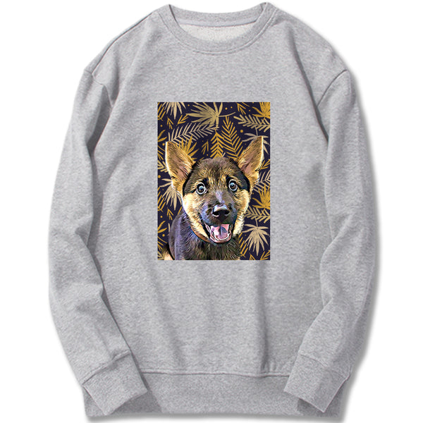 Custom Sweatshirt - Golden Floral